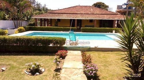 Imagem 1 de 18 de Chácara Com 4 Dormitórios À Venda, 650 M² Por R$ 900.000,00 - Água Branca - Igaratá/sp - Ch0518
