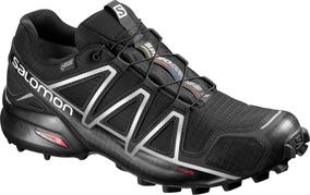 Zapatilla Masculina Salomon- Speedcross 4 Gtx Negro