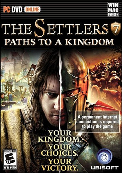 The Settlers 7 Paths To A Kingdom Pc Novo Lacrado