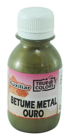 2 Betume Ecologico 100 Ml (1 Ouro E 1 Bronze) - True Colors