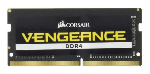 Memoria Ram 8gb Corsair Vengeance Sodimm (1x8gb) Ddr4 2666 C18