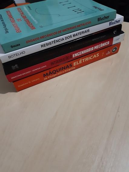 Engenharia Mecânica, Elétrica, Produção / Livros Diversos.