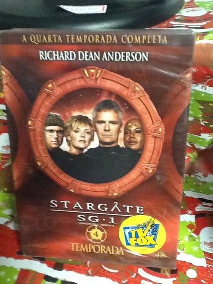 Dvd Stargate Sg-1 4ª Temporada 6 Discos
