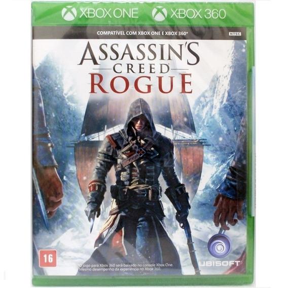 Game Assassins Creed Rogue Xbox One Midia Fisica Lacrado Br