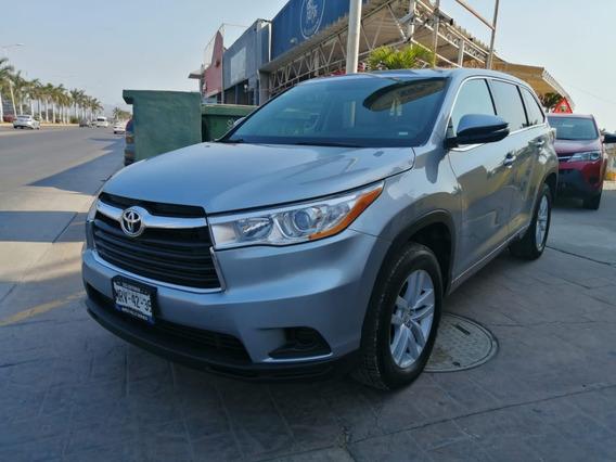 Toyota Highlander 2014 Plata
