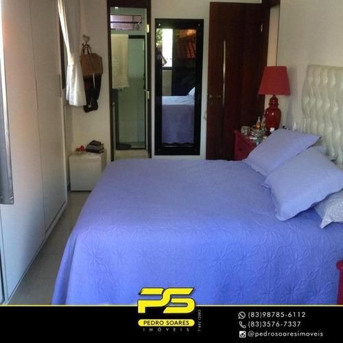 Apartamento Com 3 Dormitórios À Venda, 140 M² Por R$ 529.000 - Intermares - Cabedelo/pb - Ap3366