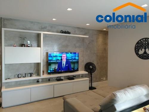 Imagem 1 de 25 de Apartamento Com 02 Quartos, Sendo 01 Suíte No Condomínio Naturale Em Jundiaí. - Ap01389 - 69486220