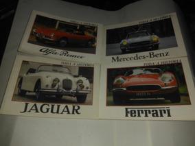 Livros Jaguar,ferrari,mercedes,alfa Lote