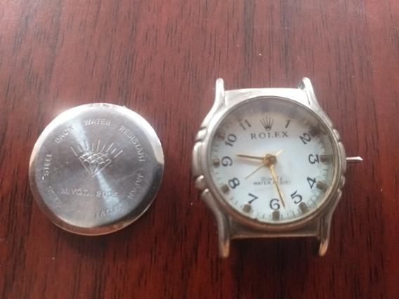 Relógio Quartz P Conserto Reaproveitamento De Peças Rolex