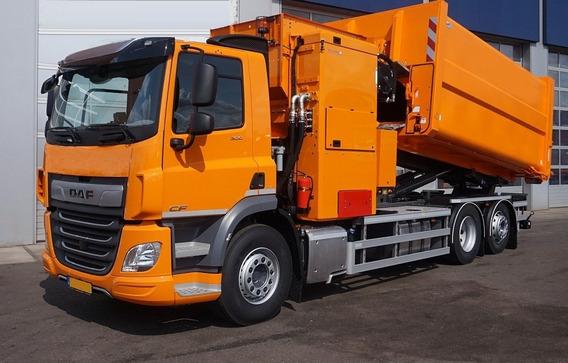 Camion Recolector De Basuras Carga Lateral