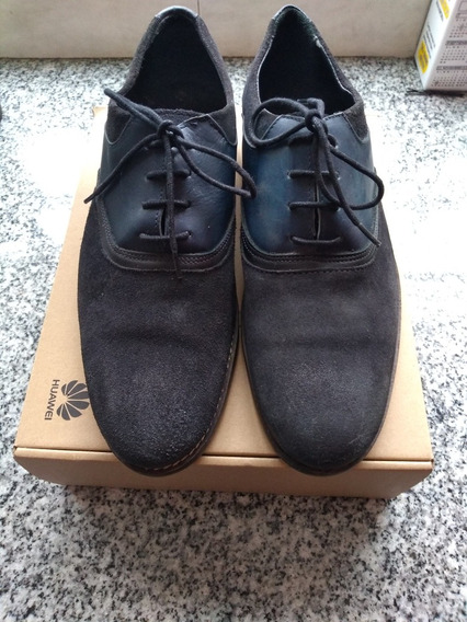 Zapatos Marron Hombre Zara Man Zapatos Marrón en Mercado