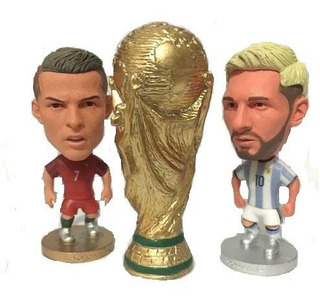 Messi Argentina Cristiano Ronaldo Cr7 Portugal Taça Mundial