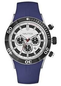 Relógio Nautica Azul Só A Pulseir Nova Pronta Entrega