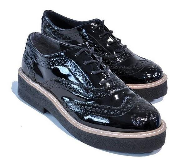 Nazaria Zapato Cordones 302 Negro