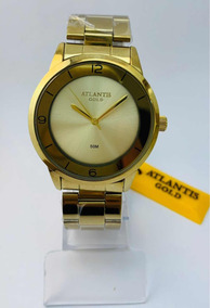 Relógio Feminino Atlantis Gold G3508