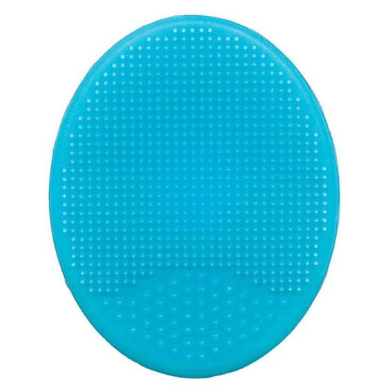 Escova Para Banho - Silicone - Azul - Buba