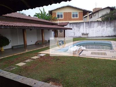 Casa Com 5 Dormitórios Para Alugar, 600 M² Por R$ 16.000/mês - Parque Taquaral - Campinas/sp - Ca0996