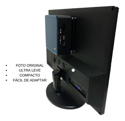 Imagem 1 de 6 de Computador Mini Pc Nuc5i3ryh Core I3 8gb Ssd 240gb + Monitor