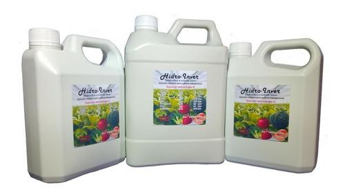 Solución Nutritiva Hidroponica Para Hortalizas De Fruto.