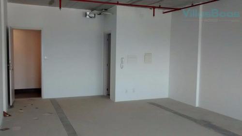 Imagem 1 de 12 de Sala Para Alugar, 42 M² Por R$ 1.520,00/mês - Jardim Aquarius - São José Dos Campos/sp - Sa0358