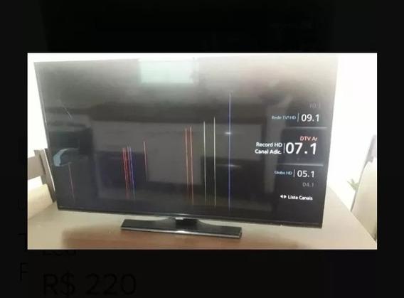 Smart Tv Samsung 40 Polegadas Tela Quebrada!!!