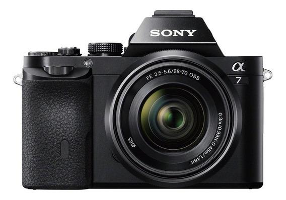 Sony Alpha 7 28-70mm OSS Kit sin espejo negra