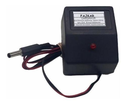 Imagen 1 de 5 de Cargador Bateria 12v 1amp + Ficha Plug Autos A Bateria Niños