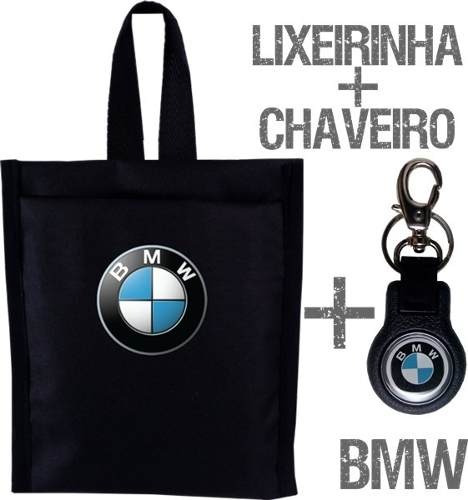 Chaveiro E Lixeirinha Lixinho Carro Bmw Frete Grátis