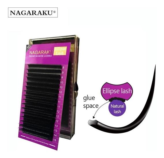 Cílios / Lash Elipse Mink Premium Fio Nagaraku- Mix 8ao15mm