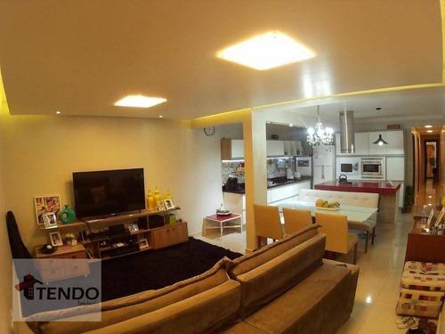 Imagem 1 de 30 de Imob01 - Apartamento 96 M² - Venda - 3 Dormitórios - 1 Suíte - Jardim - Santo André/sp - Ap1180