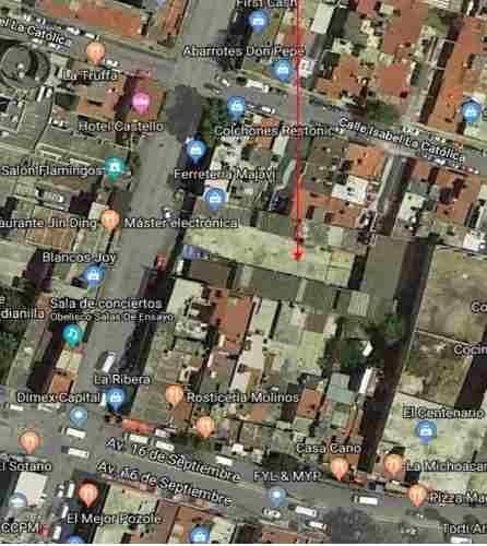 Terreno En Naucalpan Estado De México C2510
