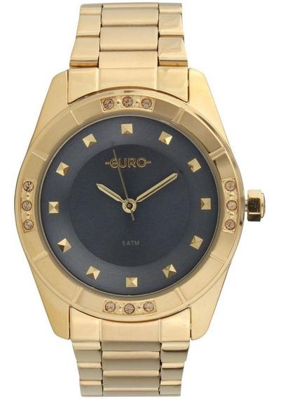 Relógio Euro Feminino Dourado Eu2036yoo/4c