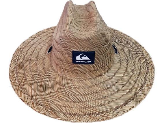 Chapéu De Palha Importado Com Elástico Ajustável Trançado