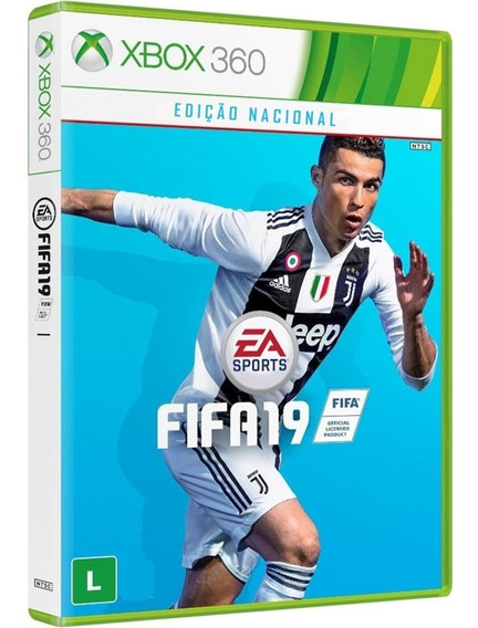 Jogo Fifa 19 Xbox 360 Midia Fisica Cd Original Futebol 2019