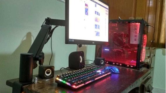 Computador Gamer Completo Gtx 970 I5 7400 Ssd 120 Gb