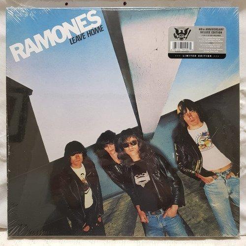 Ramones Leave Home 40th Anniversary Cds + Vinilo [nuevo]