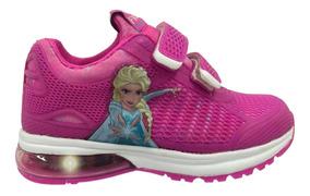 Zapatillas Addnice Disney Frozen Luces Semi Air Mundo Manias