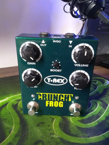 Pedal T Rex Crunchy Frog Overdrive E Boost T-rex