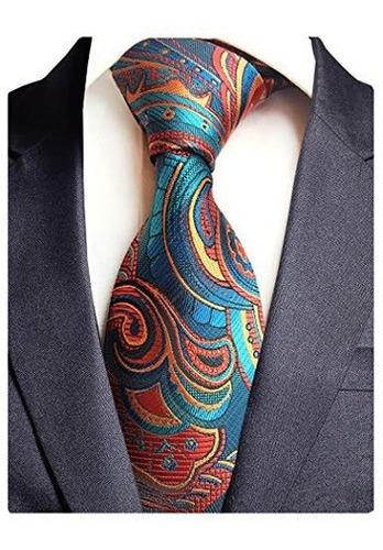 Imagen 1 de 2 de Corbata Nueva Gusleson Diseño Floral Corbata Lujo  Fiesta