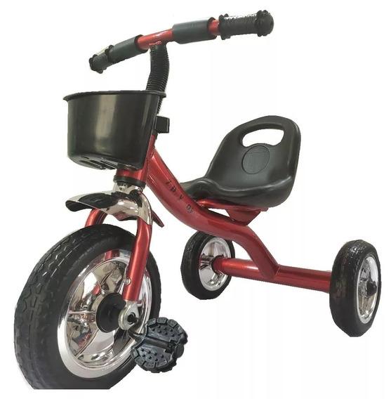 Triciclo Niños Reforzado Babymovil Tzt9 Full Cuotas