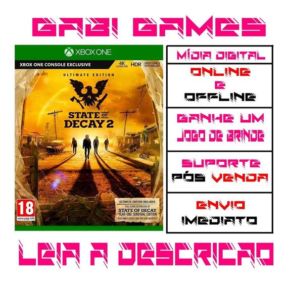 State Of Decay 2 Edição Suprema Xbox One Offline + Brinde