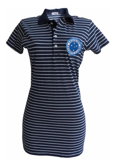 Vestido Feminino Do Cruzeiro Original Lançamento