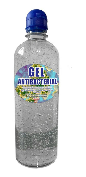 Gel Alcohol Antibacterial Cubeta Bote 1 Litro Mayoreo /i