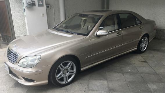 Mercedes Benz S55l Amg 2005 Color Oro. Para Coleccionistas