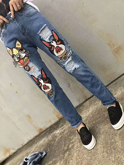 Jeans Gucci (varios Diseños)