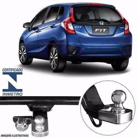Engate Reboque  Honda Fit  2015  2016 2017 2018  500 Kg