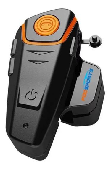Motocicleta Intercomunicador Bluetooth Portátil