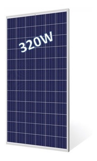 Trisol Panel Solar Fotovoltaico 320w 24v Policr.