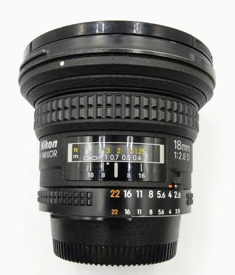 Lente Objetiva Nikon 18mm Af F 2.8 Ed
