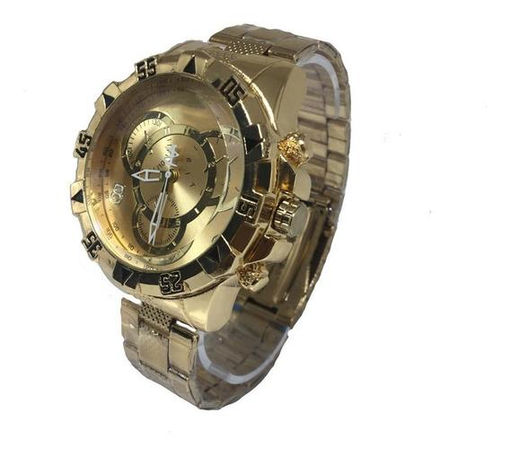 Relógio Masculino Barato Grande Exclusivo